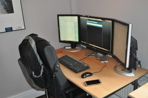 Desk of an Epicor Consultant